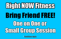 Right NOW Fitness Mornington Bring a Friend Special