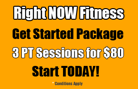 Right NOW Fitness Mornington Get Started Package